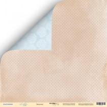 Лист двусторонней бумаги 30x30 от Scrapmir Звёздочка из коллекции Little Bear  SM2300006
