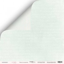 Лист двусторонней бумаги 30x30 от Scrapmir Веселое настроение из коллекции Little Bunny  SM2400003
