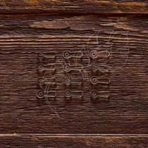 Анкеры №2 акрил 1,5 мм 12 шт (1,7х0,7 см 1 элем.), ZA002