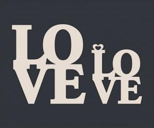 LOVE (6,8х4 см), CB143