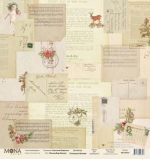 Лист Письма Деду Морозу, односторонняя, из коллекции "Сказочное Рождество", размер 30.5х30.5 см, 190 гр\м2.
