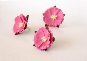 Китайские пионы - Розовые средние 1 шт