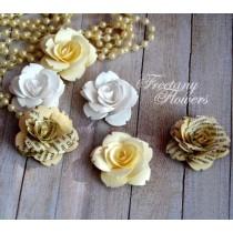 Набор цветов Freetany Flowers – 03 Латте