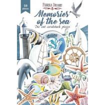 Набор высечек коллекция Memories of the sea 59 шт, пл.250 г/м