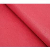Бумага упаковочная тишью, красная 50 см х 66 см, 1 лист