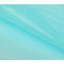 Бумага упаковочная тишью, голубой 50 см х 66 см, 1 лист
