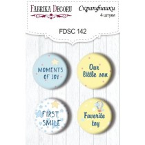 Набор скрапфишек из 4 шт. FDSC 142