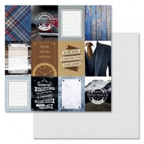 """Бумага """"Идеальный мужчина. Карточки"""" (ScrapMania, BL176)"""