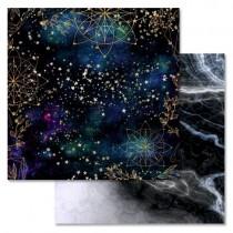 """Бумага """"Тайны вселенной. Звездный путь"""" (ScrapMania), 30,5х30,5 см, пл. 180 гр/м2"""