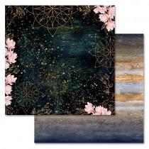 """Бумага """"Тайны вселенной. Сияние"""" (ScrapMania), 30,5х30,5 см, пл. 180 гр/м2"""