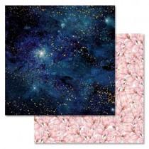 """Бумага """"Тайны вселенной. Млечный путь"""" (ScrapMania), 30,5х30,5 см, пл. 180 гр/м2"""