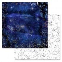 """Бумага """"Тайны вселенной. Бесконечность"""" (ScrapMania), 30,5х30,5 см, пл. 180 гр/м2"""