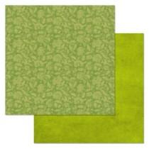 """Бумага """"Фономикс. Зеленый. Цветы"""" (ScrapMania)"""