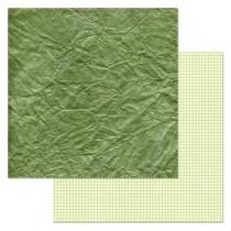 """Бумага """"Фономикс. Зеленый. Бумага"""" (ScrapMania)"""