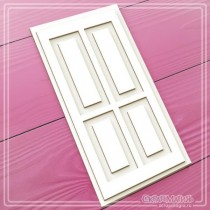 "3D чипборд ""Дверь"" 70х140 мм"