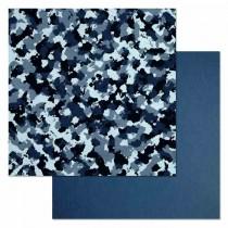 "Бумага ""Армейский альбом. Камуфляж"" (ScrapMania) размер 30,5х30,5 см, пл.180 гр/м2"