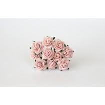 Mini розы 1 см - Розовоперсиковые светлые 124, 1 шт.