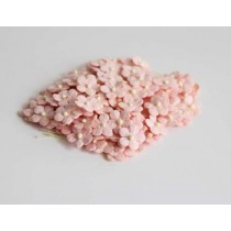 Цветочки маленькие 1 см - розовоперсиковые 123 1 шт