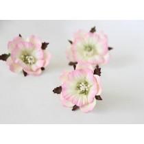 Пионы - Св.розовый+молочный, 1 шт