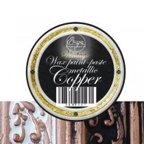 """Восковая краска-паста VINTAGE """"Copper Metallic"""", 10 мл."""