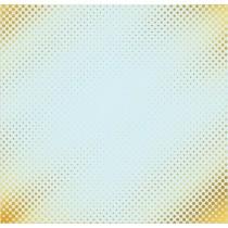 """Лист бумаги с фольгированием """"Один миг"""", 30,5 х 30,5 см 180 г/м"""