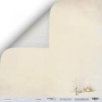 Лист двусторонней бумаги 30x30 от Scrapmir Сияние из коллекции Shabby Winter