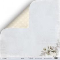Лист двусторонней бумаги 30x30 от Scrapmir Музыка из коллекции Shabby Winter