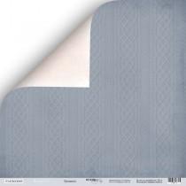 Лист двусторонней бумаги 30x30 от Scrapmir Орнамент из коллекции Shabby Winter
