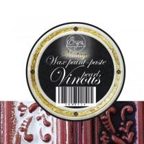 """Восковая краска-паста VINTAGE """"Vinous pearl"""", 10 мл."""