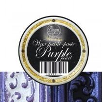 """Восковая краска-паста VINTAGE""""Purple pearl"""", 10 мл."""