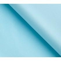 Бумага упаковочная тишью, голубой, 50 см х 66 см, 1 лист