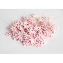 Цветочки маленькие 2 см - Розовоперсиковые 123 1 шт