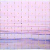 Бумага для скрапбукинга с фольгированием «Счастье ждёт тебя», 30.5 × 30.5 см, 250 г/м