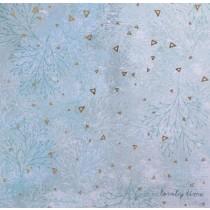 Бумага для скрапбукинга с фольгированием «Прекрасное время», 15.5 × 15.5 см, 250 г/м