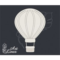 Воздушный шар (6,5 х4,6 см) 3 элемента, CB337