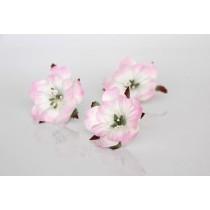 Пионы - Св.розовый+белый, 1 шт