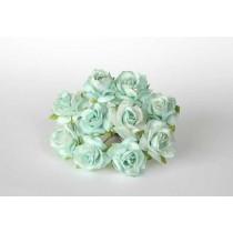 Кудрявые розы 3 см - Мятные, 1 шт