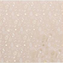 Калька декоративная c фольгированием «Зимняя сказка», 30,5 × 30,5 см