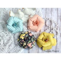 Набор цветов Freetany Flowers - 39 Макаруны