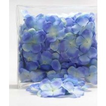 Цветы  May Arts тканевые, сердцевина 1,9 см (от края до края 4,5 см), цвет 439-34 Light Blue, 1 шт.