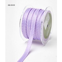 Лента May Arts Satin w/ Knotted Edge, ширина 0,95 см, цвет Lavender, 1 метр