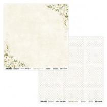 "Лист двусторонней бумаги ""Simple Story 3 beige 05/06"" 30,5х30,5 см., пл.250 гр"