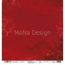 """Лист Красный свитер - коллекция """"Осень"""" размер 30,5х30,5см., пл.190 г/м2"""