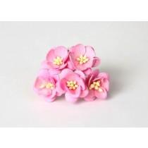 Цветы вишни - Розовые 120 1 шт