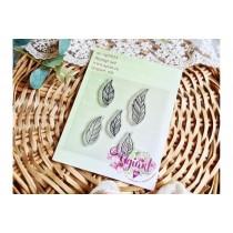 """Набор штампов """"Изящные листья"""" от AgiArt"""