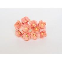 Цветы вишни средние 1,5 - 2 см - Персиковые 135 1 шт