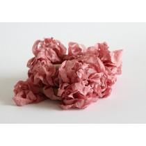 Шебби лента - Розовый лепесток 1 м