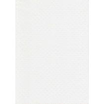"""БР002-1 Бумага с рельефным рисунком """"Точки"""" Цвет: Белый 1 лист"""