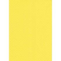 """БР002-11 Бумага с рельефным рисунком """"Точки"""" Цвет: Ярко-Желтый 1 лист"""