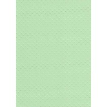 """БР002-7 Бумага с рельефным рисунком """"Точки"""" Цвет: Светло-зеленый 1 лист"""